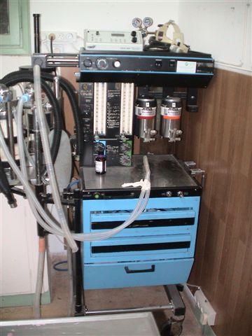 מכונת הרדמה בגז (איזופלורן)